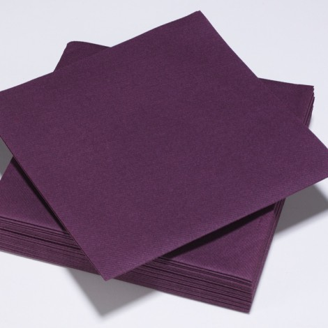 serviette voie s che parme 40 x 40 cm paquet de 50 1001 f tes. Black Bedroom Furniture Sets. Home Design Ideas