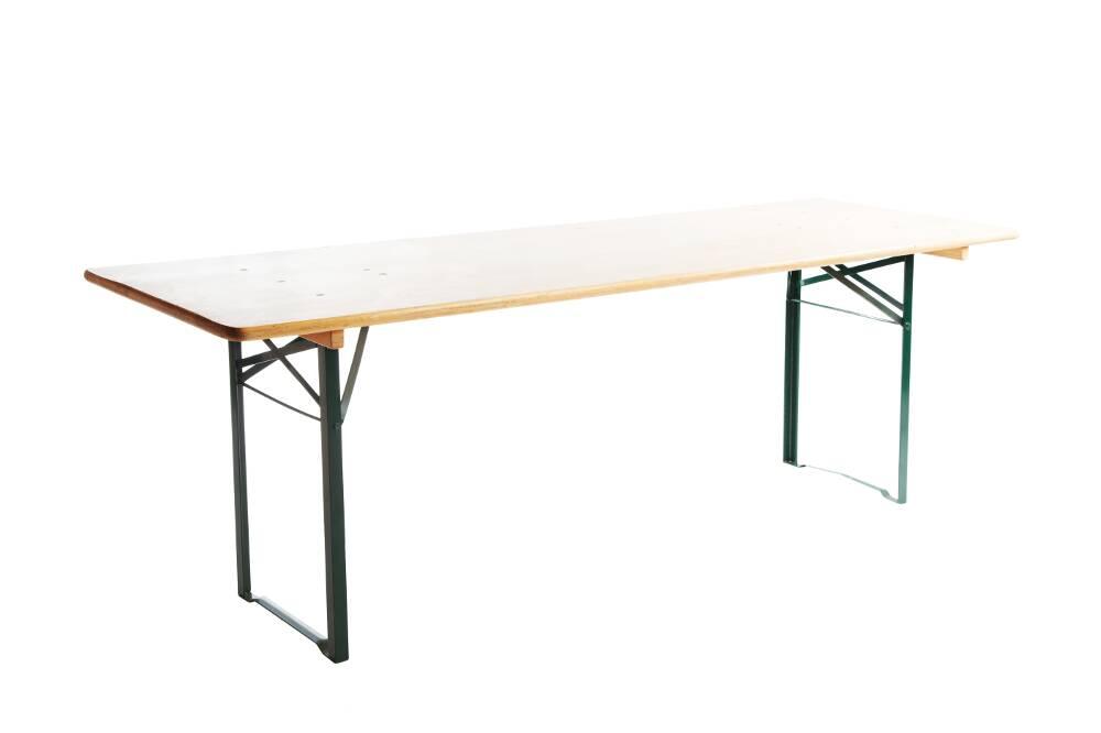 Table buffet bois L 200 cm x P 80 cm x H 90 cm - 1001 Fêtes