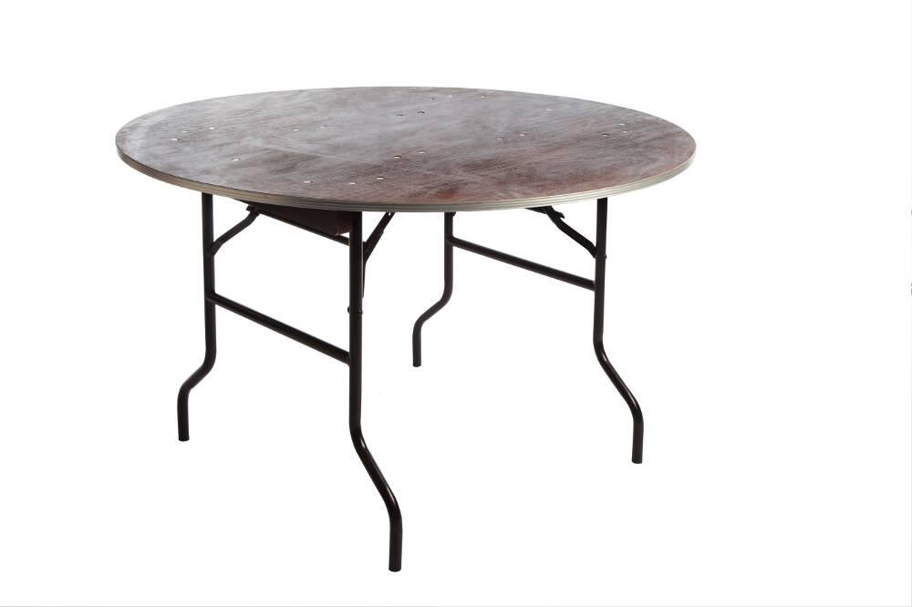 table ronde bois d 120 cm 6 pers 1001 f tes. Black Bedroom Furniture Sets. Home Design Ideas